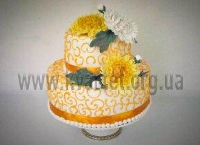 "Свадебный торт ""Астры"""