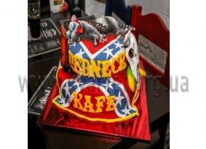 """Торт """"Redneck Kafe"""""""