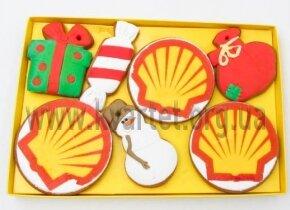 Новогодние сувениры для Shell